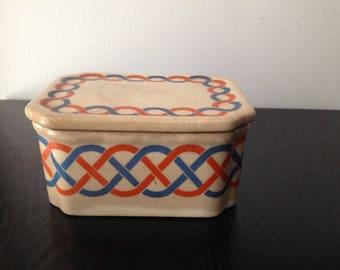 Vintage Porcelain Trinket Box