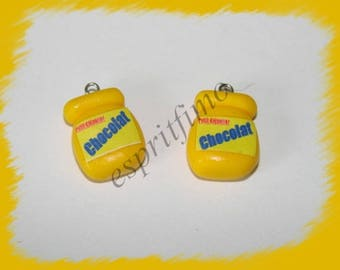 "Charm ""box breakfast"" in fimo"