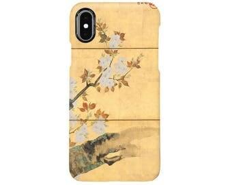"iPhone case  "" Sakai Hoitsu   Blossoming Cherry Trees Left side ""  iPhone5/5s/SE/6/6s/6Plus/6sPlus/7/7Plus/8/8Plus/X"