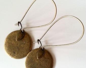 Tan earrings 7