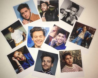 One Direction Sets - OT5, Larry, Ziam, Zarry, Narry, Zouis, Lilo, Ziall or Nouis Polaroids. Sets of 10
