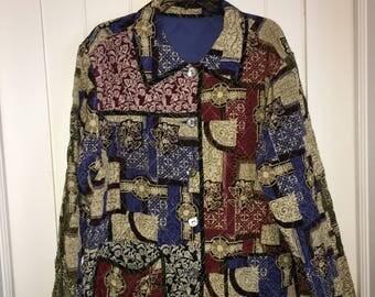 Paisley Quilt Jacket