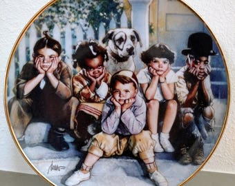 Little Rascals Plate from Franklin Mint