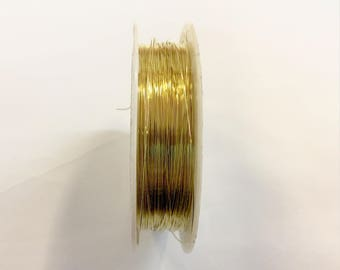 Copper wire 0.30 mm Golden jewellery designs