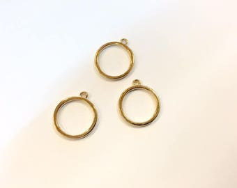 20 charms spacer 17mm for jewelry designs