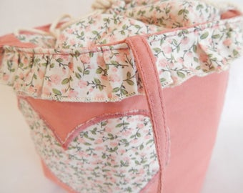 Bag lined in cotton