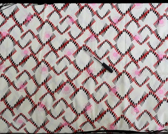 "coupon ""Graphic"" African wax fabric"