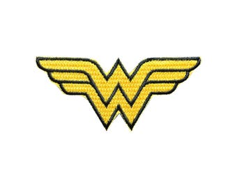Wonder woman Patch Fight Like A Girl Iron on Patch Sew On Patches back patch