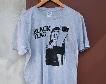 Black Flag T-Shirt (punk, hardcore, punk rock, henry rollins)