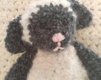 La La Lambie sweet crocheted sheep