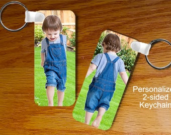 Personalized Photo Keychain - Rectangle