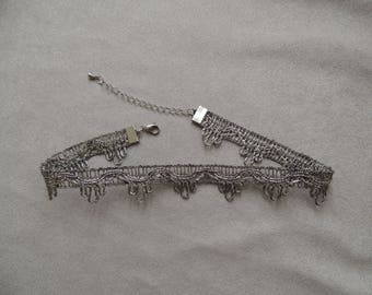 Vintage braid neck