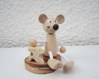 Wooden mouse