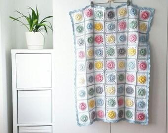 Children's blanket HANDMADE Crochet Baby/Infant