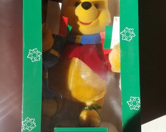 Telco 1996 winnie the pooh christmas motionette