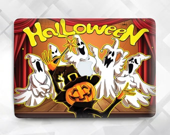 Halloween Ghost MacBook, Macbook case Halloween, Ghost Halloween Laptop Case, Macbook Air 11 13, Pro 13 15, Macbook 12, Pro Retina 13 15