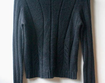 Womens black Turtle neck sweater