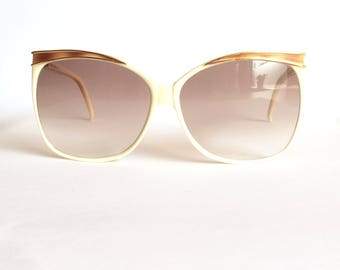 Charles Jourdan 8069 CJ 9 Vintage 70's Oversized Pre-Owned Sunglasses