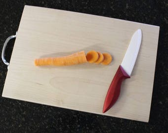 Maple Cutting Board with Handle