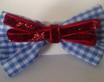 Dorothy Wizard of Oz Hair bow