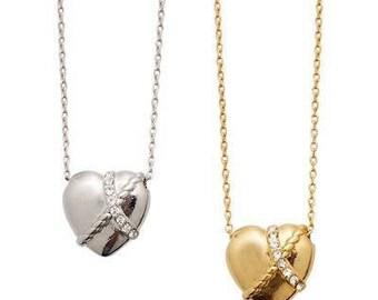 Heart nickels gold or sliver