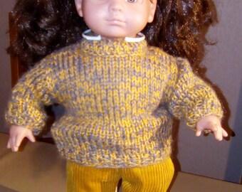 Handmade 40-42 cm soft body doll clothing set