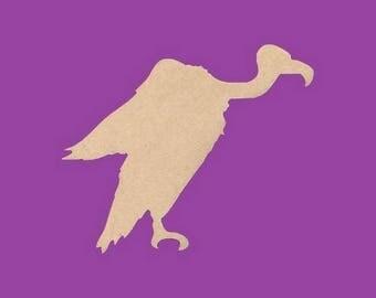 Blank MDF Vulture medium support