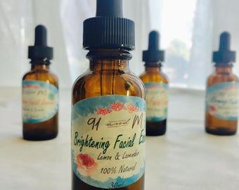 All Natural Facial Moisturizer /Facial Oil/Facial Serum/Gift Idea