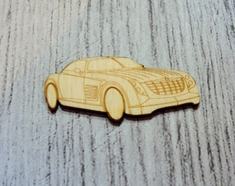 sports car 1156 wooden creations