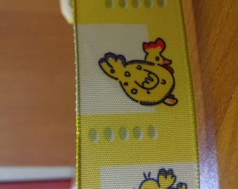Fancy 100% polyester 25mm satin ribbon