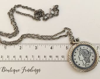 Necklace for Women, Necklace, Vintage Jewelry Necklace, Vintage Necklace - Vintage Jewelry -  Vintage Chain - Vintage - S