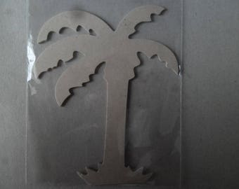 x 1 tree in the shape of Palm wood 16 x 12.2 cm