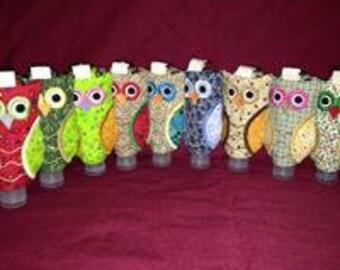 Owl for sanitizer - Hibou pour gel a main