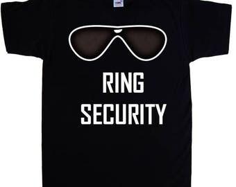 Ring Bearer Custom Shirt, Bridal Party Custom Shirt, Wedding Party Favor, Wedding Party Shirt, Ring Security, Custom Boys Shirt