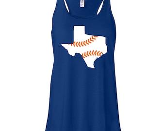 Houston Astros Baseball Tank, Astros Ladies Shirt, Astros Baseball Shirt, Astros Love Baseball, Houston Astros, Stros Shirt, Custom Astros