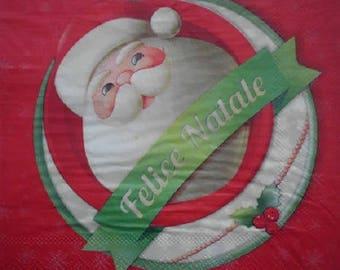 021 Santa Claus napkin