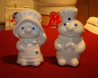 Doughboy Salt and Pepper Set