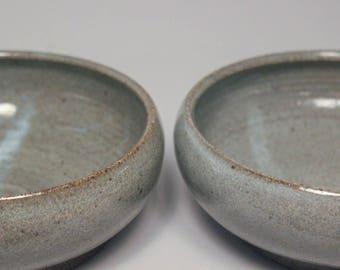Grey Shallow Bowl