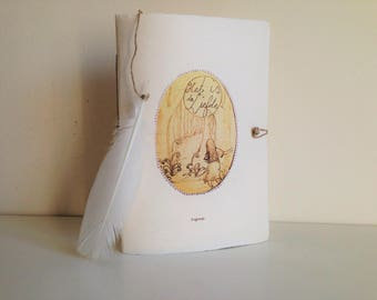 Handmade novella Novel Book: It Is Love, a legend (English). Over a sensitive girl pulling the forest in.