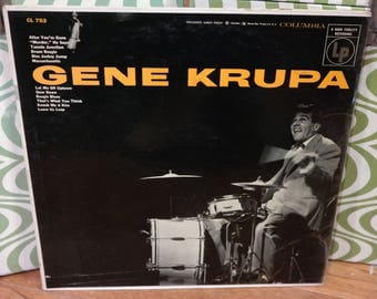 Jazz LP-Gene Krupa-Columbia Records Self Titled-CL753