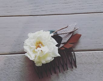 Stabilized flowers comb