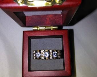 Sterling silver topaz