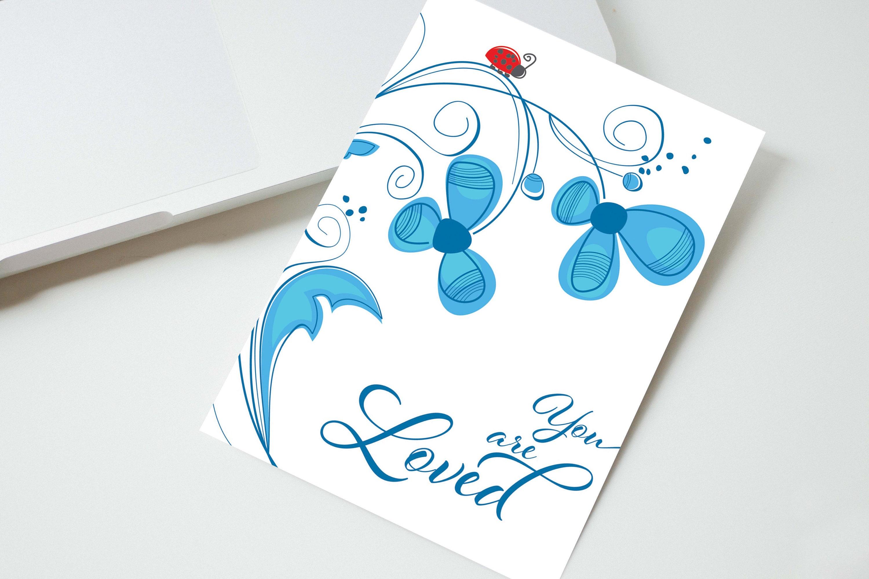 Greeting card anniversary card printable cards you are loved greeting card anniversary card printable cards you are loved m4hsunfo