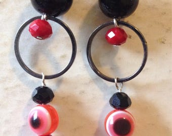 Black and Red Evil Eye