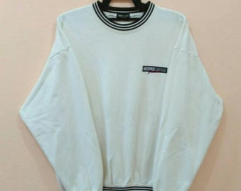 MICHIKO LONDON jumper pullover spellout white colour large size