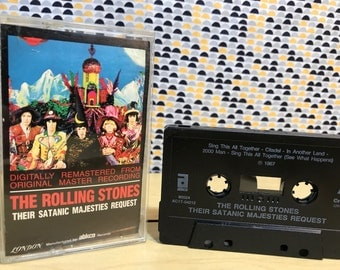 The Rolling Stones - Their Satanic Majesties Request - Cassette tape - ABKCO Records