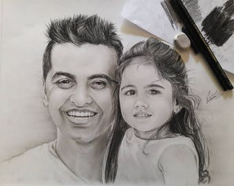 Customized Portraits. Free shipping (worldwide) for two portraits.