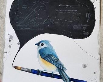 Air Combat Bird fine art print