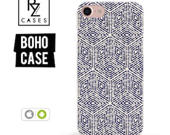 Boho Case, iPhone 7 Case, iPhone 6 Case, Floral Phone Case, indigo Phone Case, iPhone 7 Plus Case, iPhone 6 plus, Samsung Galaxy, Bohemian