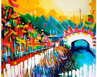 Dreamwalk by the Royal Canal - FINE ART PRINT